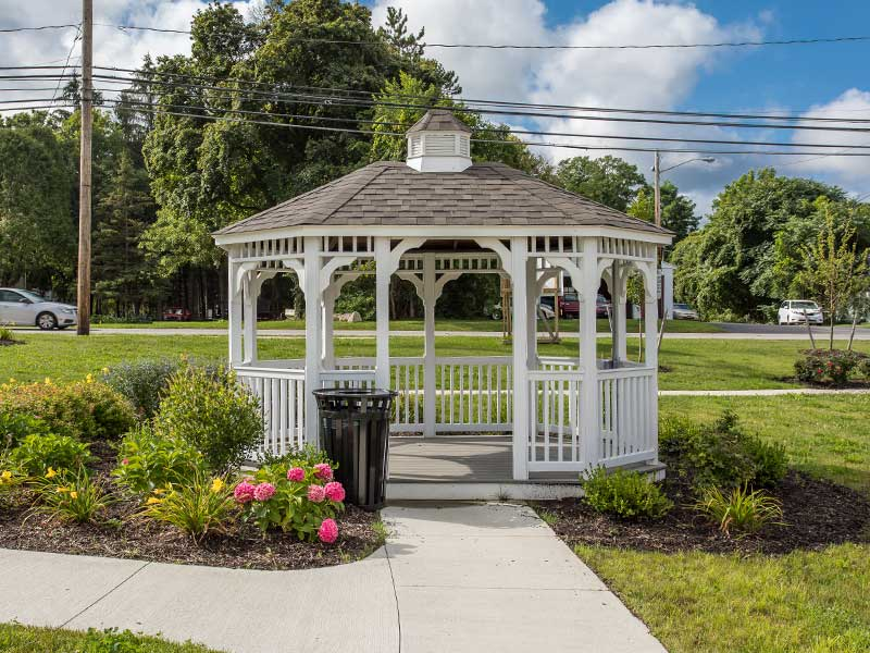 gazebo at The Legends at Whitney Town Center